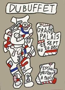 Festival D'Automne by Jean Dubuffet