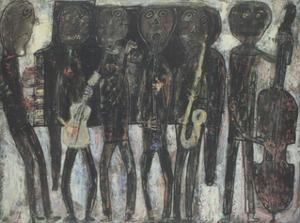 Jazz Band by Jean Dubuffet