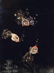 A Lacquered Panel by Jean Dunand by Jean Dunand