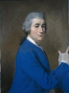 David Garrick, in High Overcoat by Jean-Etienne Liotard