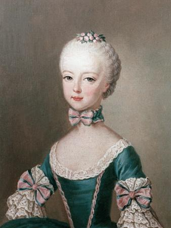 Marie Antoinette Daughter of Emperor Francis I and Maria Theresa of Austria
