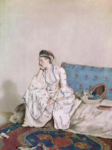 Portrait of Mary Gunning, Countess of Coventry, 1749 by Jean-Etienne Liotard