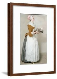 The Chocolate Girl by Jean-Etienne Liotard