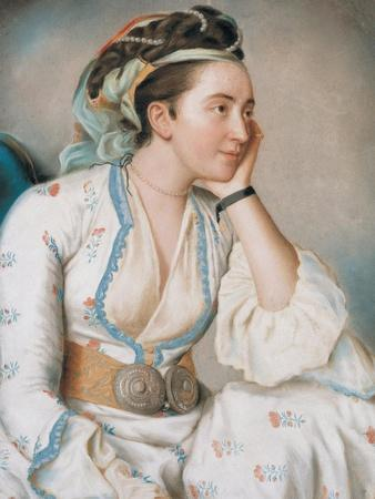 Woman in Turkish Dress, Mid of the 18th C