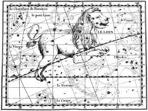 Constellation of Leo, 1775 by Jean Fortin