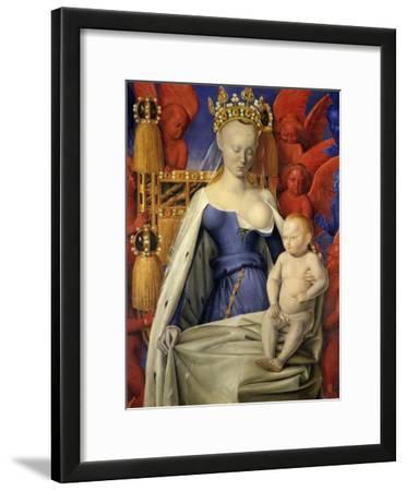 Agnes Sorel as Madonna with Child
