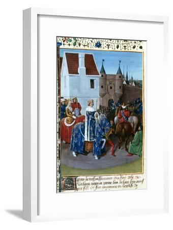 Entry of John II to Paris, 14th Century, (1455-146)