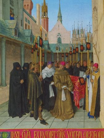 Les Heures D'Etienne Chavalier: Vespers for the Dead