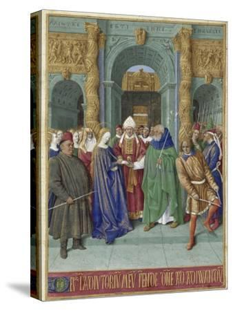 The Marriage of Mary and Joseph (Hours of Étienne Chevalie)