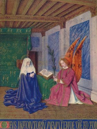 'The Second Annunciation', c1455, (1939)