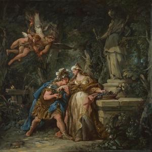 Jason Swearing Eternal Affection to Medea, 1743 by Jean-Fran?ois de Troy