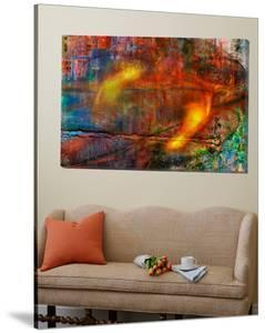 Colorful Fire Abstract by Jean-Fran?ois Dupuis