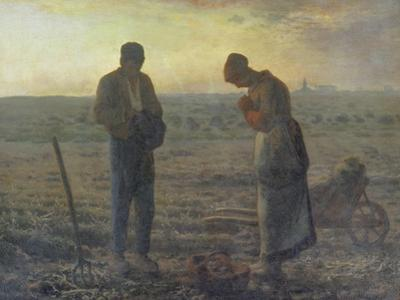 Evening Prayer (L'Angélus), 1857/59 by Jean-Fran?ois Millet