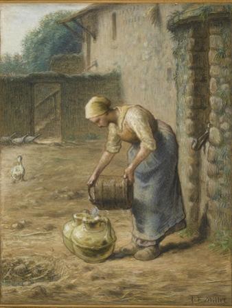 La femme au puits by Jean-Fran?ois Millet