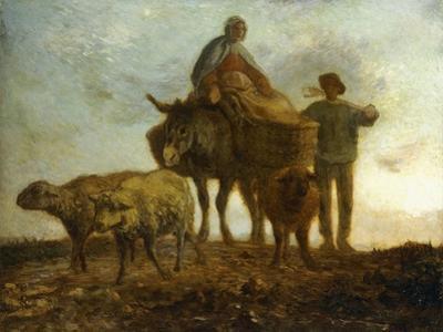 Return from the Fields by Jean-Fran?ois Millet