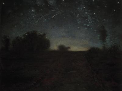 Starry Night, C.1850-65 by Jean-Fran?ois Millet