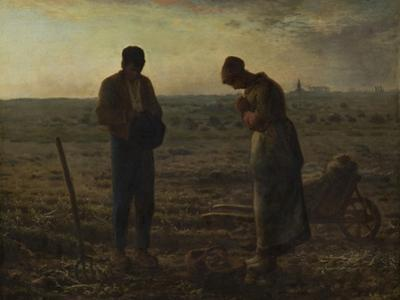 The Angelus, Between 1857 and 1859 by Jean-Fran?ois Millet