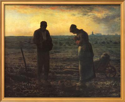 The Evening Prayer (L'Angélus), c.1859 by Jean-Fran?ois Millet