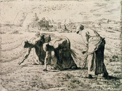 The Gleaners, 1855 by Jean-Fran?ois Millet