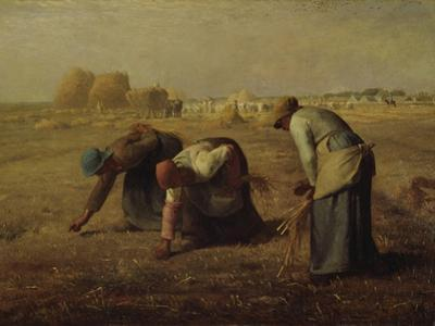 The Gleaners (Les Glaneuses), 1857 by Jean-Fran?ois Millet