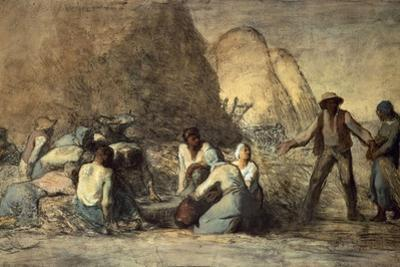 The Meal of the Harvesters by Jean-Fran?ois Millet