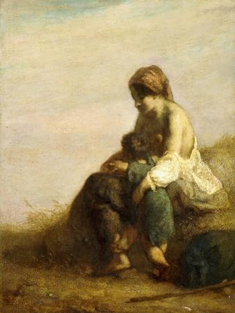 The Wanderers by Jean-Fran?ois Millet