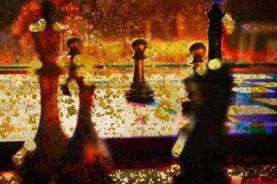 Abstract Chess I by Jean-François Dupuis