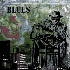 Blues II by Jean-François Dupuis