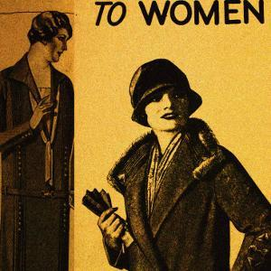 Vintage Womenwear 1925 I (Yellow) by Jean-François Dupuis