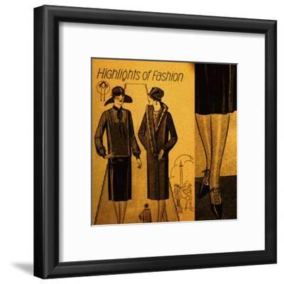 Vintage Womenwear 1925 IV (Yellow)