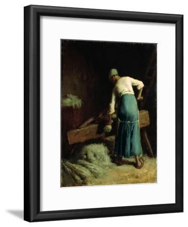 Breaking Flax, C.1850-51