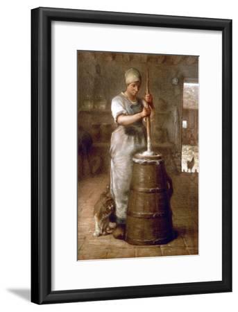Churning Butter, 1866-1868