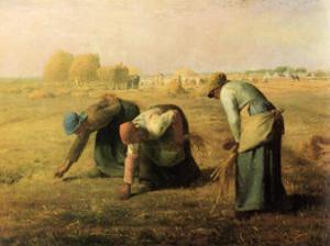 Les Glaneuses, c.1890 by Jean-François Millet