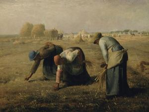 Les glaneuses by Jean-François Millet
