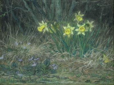 Narcissi and Violets, circa 1867