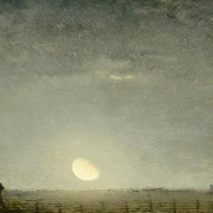 Parc �outons, clair de lune by Jean-François Millet