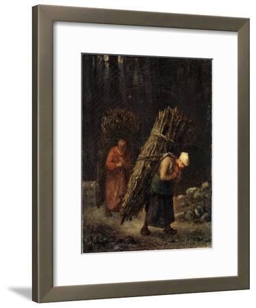Peasant Girls with Brushwood, C1852