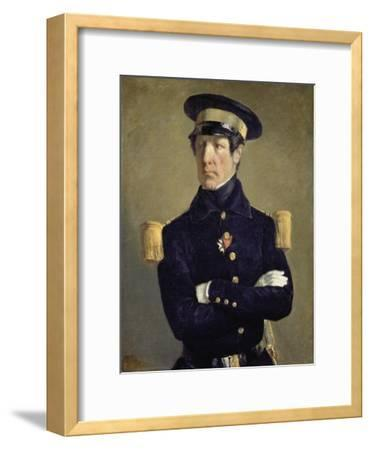 Portrait of a Navy Officer, 1845