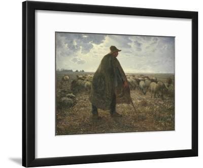 Shepherd Tending His Flock, Early 1860S