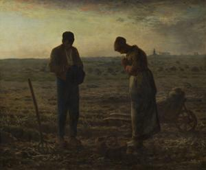 The Angelus, Between 1857 and 1859 by Jean-François Millet