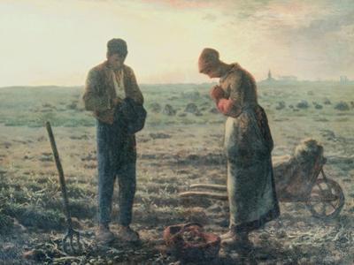 The Angelus, c.1857-59 by Jean-François Millet