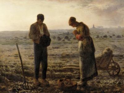 The Angelus (L'Angélus) by Jean-François Millet
