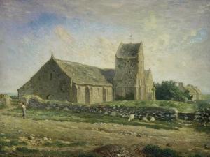 The Church at Gréville, 1871/1874 by Jean-François Millet