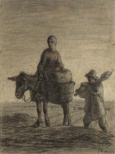 The Departure for Work, 1857 by Jean-Francois Millet