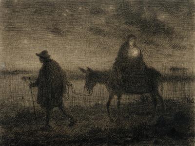 The Flight into Egypt, C.1864