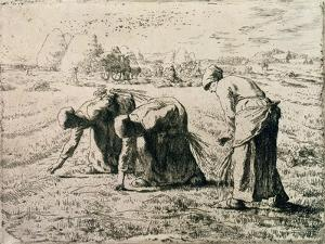 The Gleaners, 1855 by Jean-François Millet