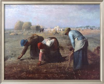 The Gleaners, c.1857 by Jean-François Millet