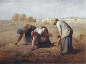 The Gleaners (Des Glaneuses Ou Les Glaneuses) by Jean-François Millet
