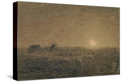 The Shepherd at the Fold by Moonlight