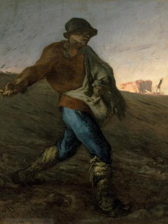 The Sower by Jean-Fran§Ois Millet by Jean-François Millet